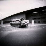 Pinhole Camera Image, Photomobile Workshop Imperial War Museum North